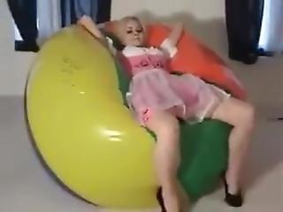 Emily Addison: Mega Beach Ball Deflate
