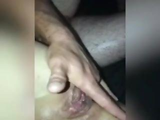 Watch As  I Finger Her Ass Until She Cums And Squirts All Over Uncontrollab