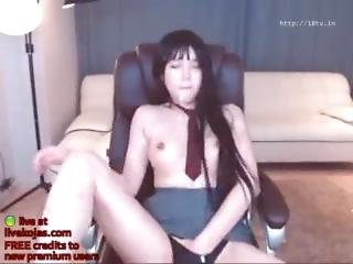 asiat, camtjej, koreansk, solo, webcam