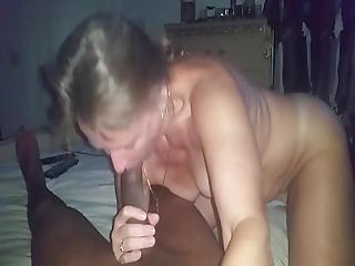 rubia, blowjob, interracial, vieja, puta, chupando, joven