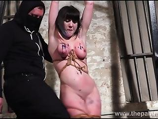 Brutal Amateur Bondage And Humiliation Of Slave Louise