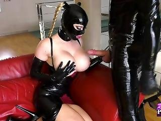 Stairway To Latex Heaven Part 2 Blowjob