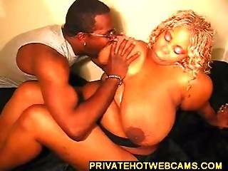 Big Ebony Babe With Huge Tits Gets A Fuck From Big Dick Www.privatehotwebcams.com