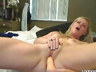 Busty Blonde Milf Bianca Masturbates Her Sweet Pussy