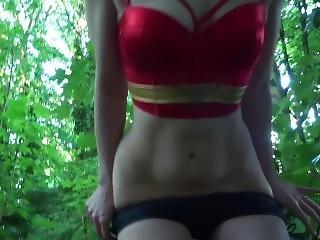Wonder Woman, Tiny Shorts, Butt Plug, Pawg