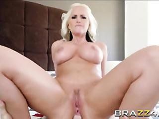 Alena Croft Is Having Her Pussy And Asshole Fucked Really Hard By A Big Cock