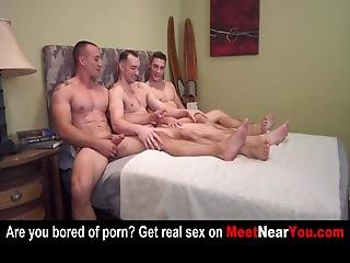 5 Gays Fucked Anal And Blowjob With Cum