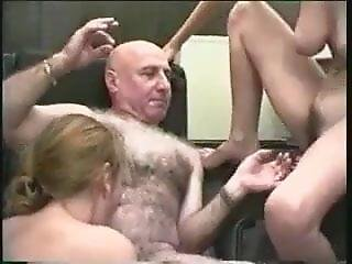Older Perverted Man Fucking Two Chav Slags