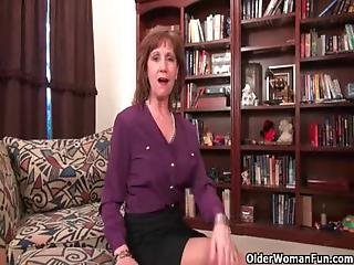 Mom S Nipples And Clit Need Attention After A Hard Days Work