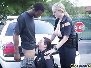 Big Boobs Naughty Police Women Taking Charge With Young Bbc