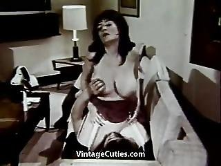Horny Mature Threesome Loves Oral 1960s Vintage