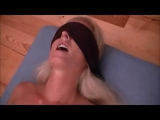 Angelgo With Two Guys - Part I - Blindfolded Pussy Licking And Fingering