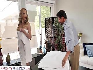Hot Wife Has Massage Stud Give Her A Happy Ending