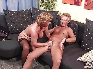Facial, Fucking, German, Grandma, Grandpa, Hardcore, Milf, Stocking