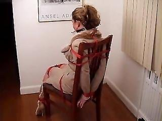 Chairtied And Ballgaged