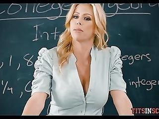 store pupper, stor pupp, blond, pupp, knulling, milf, skole, lærer, Tenåring