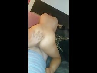 Sexy Dancer Girlfriend Riding Dick With Fat Ass