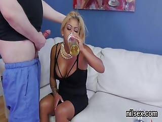 Horny Chick Is Brought In Ass Hole Asylum For Harsh Therapy