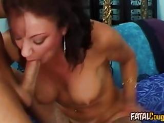 Milf Begs Her Lover To Pound Her Harder