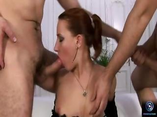 anal, pipe, brunette, première fois, nique, lèche, masturbation, percée, star du porno, belle, chatte, trio