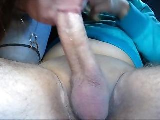 Car Sloppy Deepthroat Suck My Hard Cock And Swallow