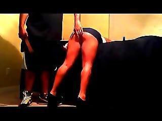 Spank In Miniskirt. No Underwear Camaster