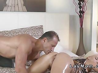 Blonde Milf Banged Till Ass Jizzed