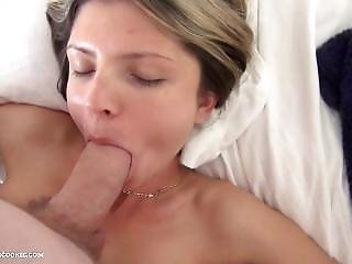 18yo Russian Cutie Gives Bj And Swallows