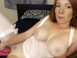 Gorgeous Red Head With Lovely Big Breas02 -more At Hotnudegirlz_com