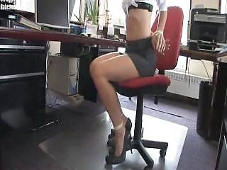 Secretary Overpowered Tape Gagged
