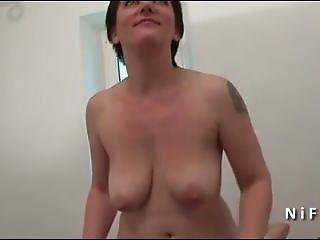 Casting Amateur French Milf Hard Analized. Aimee From Dates25.com