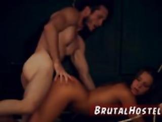 Preta, Bondage, Engasgar, Oral, Rude, Sexo, Espancar