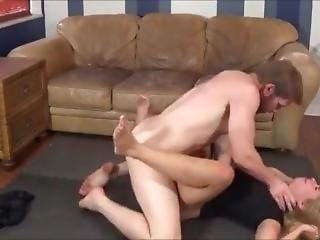 Brother Fucks Sister While She Does Yoga - Full Version - Family Therapy