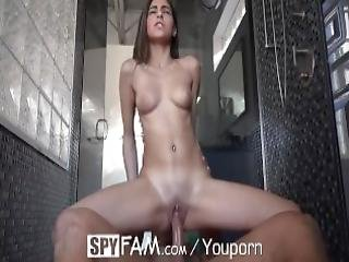 Spyfam Step Sister Shower Fucked By Step Bro