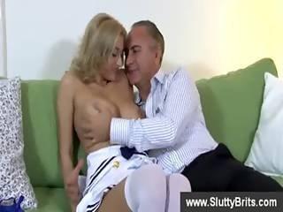 Blonde Slut Has Her Pussy Fingered