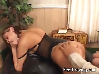 Sexy Obese Girl Enjoys Fucking Two Dongs