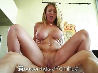 Passion-hd - Busty Brooke Wylde Is Gobbling Down Some Cock