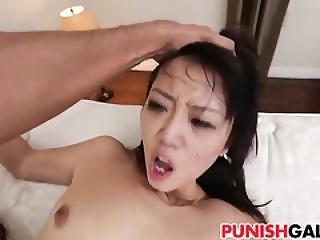 Bound Asian Teen Miko Dai Gets Slammed