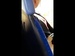 Spy Tiny Teen Tits Boobs On The Bus