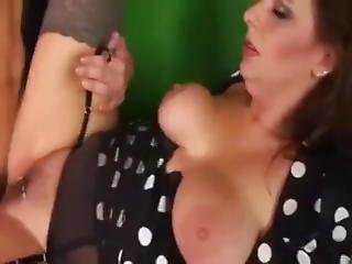 Son Cums Twice In His Sexy Mom - On