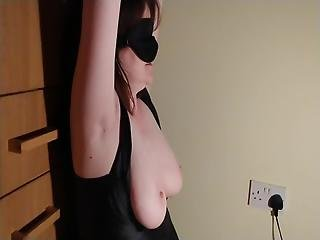 Wife Tied And Blindfolded Lockdown Blow Job