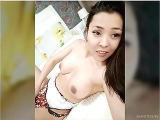 Asian Busty Milf Selfie Cam Tease
