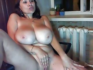 Russian Girl Tanya With Big Tits Webcam Part1