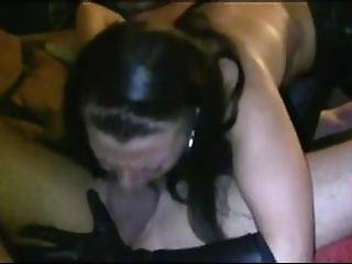 Danyel Live On 720cams.com - Horny Wife Giving Deep Throat Blowjob On Webcam Wet Dick