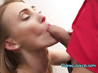 Beautiful Chick Kira Parvati Blows Her Hung Boss