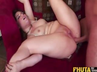 Fhuta Charlotte Gets A Big Load On Her Pierced Clit