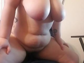 amateur, babe, teta grande, rubia, masturbación, publico, solo, jugetes
