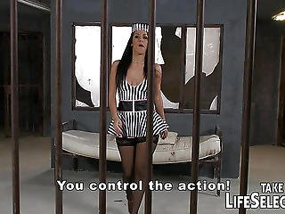 Jail Ward Fucks Sexy Inmates � And His Female Boss Too!