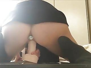 Amateur, Butt, Buttplug, Dildo, Fingering, Masturbation, Orgasm, Sex, Toys