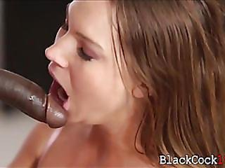 Nasty Teen Tiff Banister Banged By Massive Black Cock